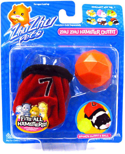 Zhu Zhu Pets Hamster Outfit - Soccer Hamster Not Included!