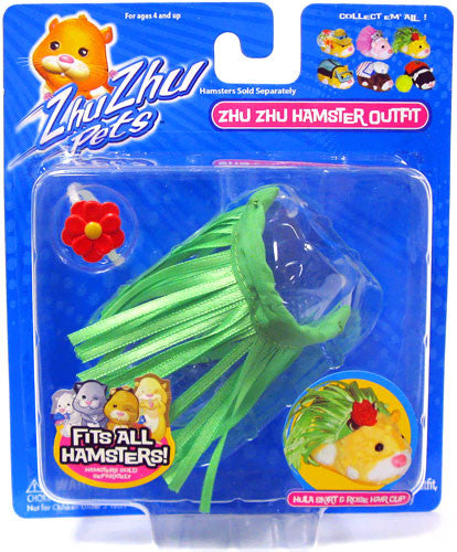 Zhu Zhu Pets Hamster Outfit Hula Hamster Not Included!