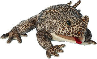 """12"""" American Toad Puppet"""
