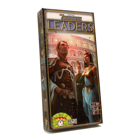 Asmodee TASM-02 7 Wonders Leaders Expansion Pack - Peazz.com