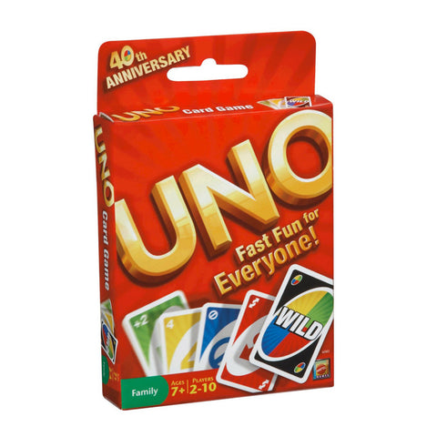 Mattel TMAT-03 UNO Card Game - Peazz.com