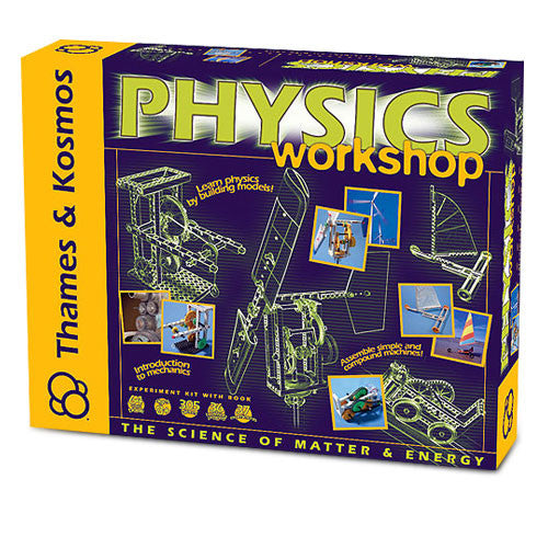 Thames & Kosmos TTKM-04 Physics Workshop Kit BRY-TTKM-04