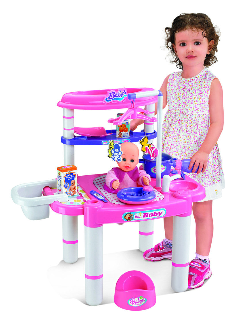 Berry Toys BR008-02 Babies Doll Feeding Playset