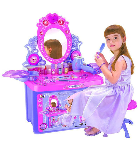 Berry Toys BR72008 My Lovely Portable Superior Dresser with Lights, Music and Accessories - Peazz.com