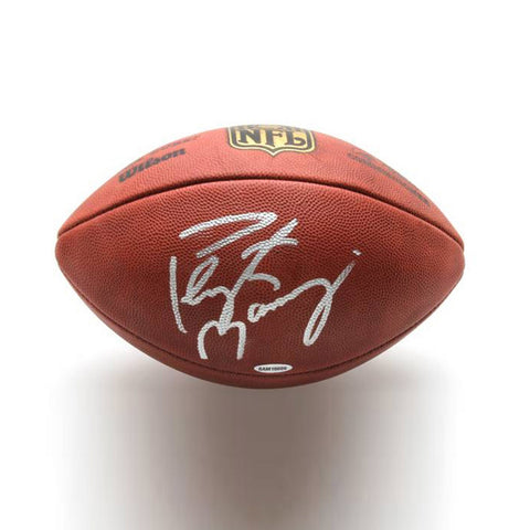 Peyton Manning Autographed Official NFL Wilson Football - Peazz.com