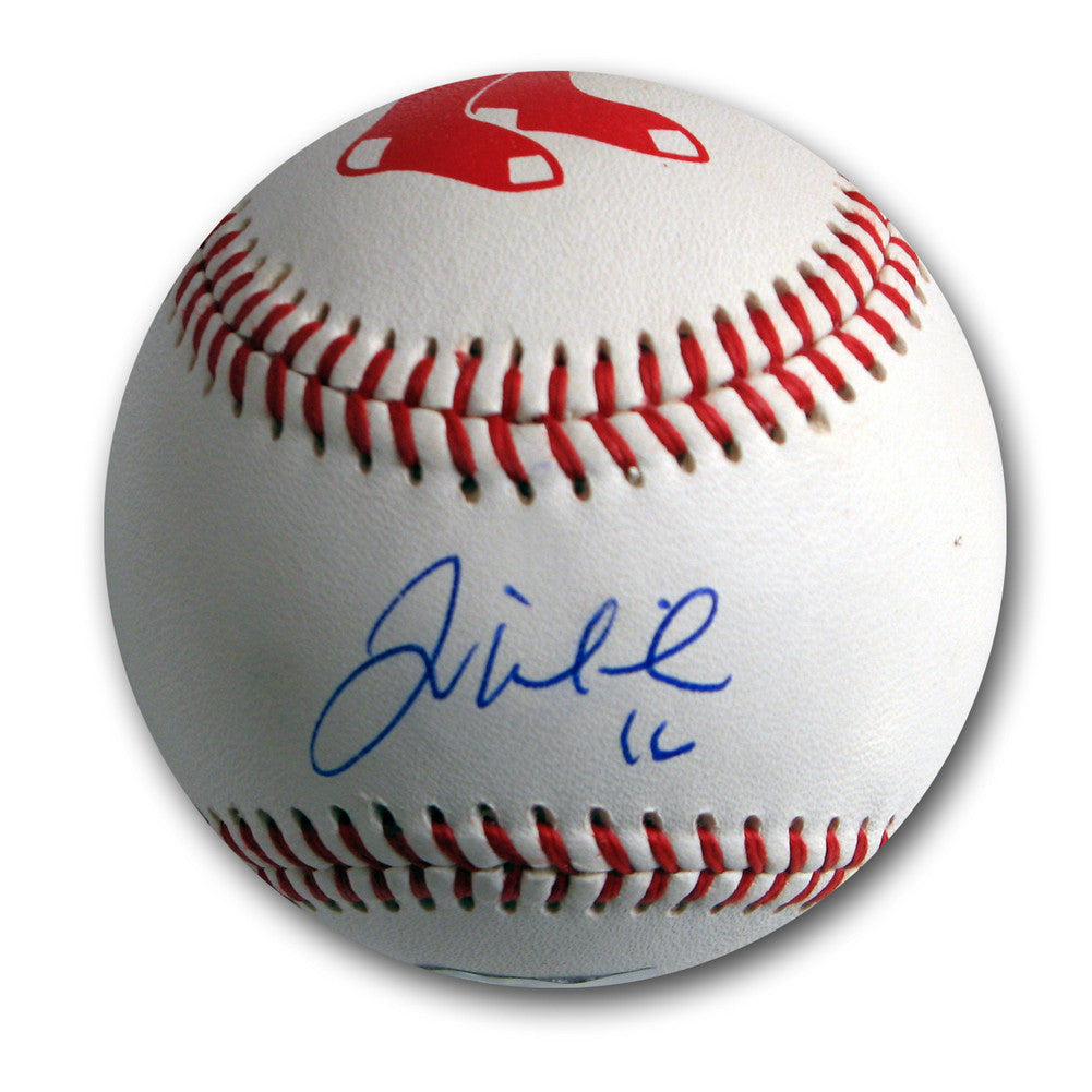 Autographed Will Middlebrooks Red Sox Logo Baseballll (MLB Authenticated)