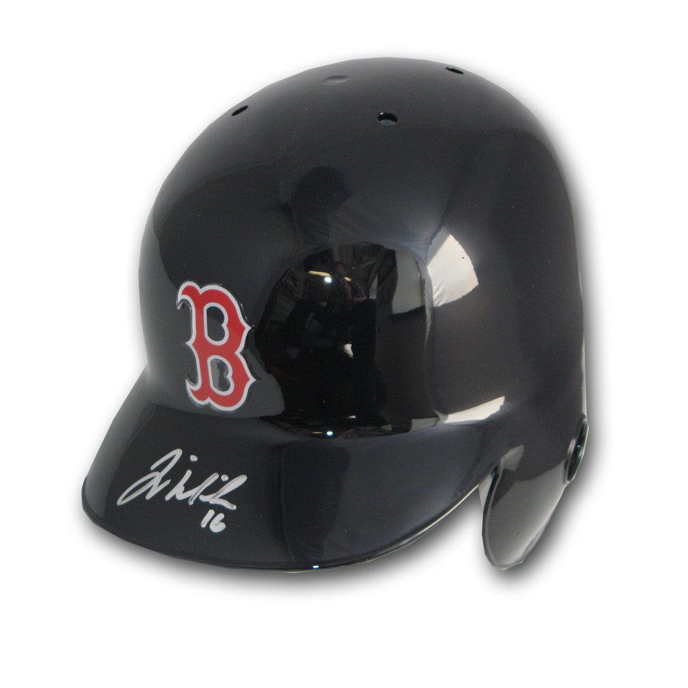 Autographed Will Middlebrooks Boston Red Sox Batting Helmet SPI-AUMIDDLEBROBH