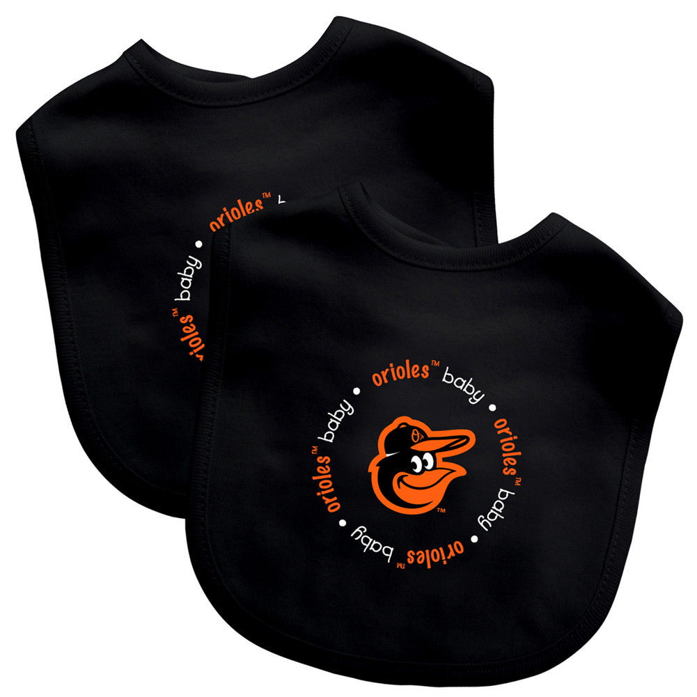 2 Pack Baby Fanatic Bib Baltimore Orioles