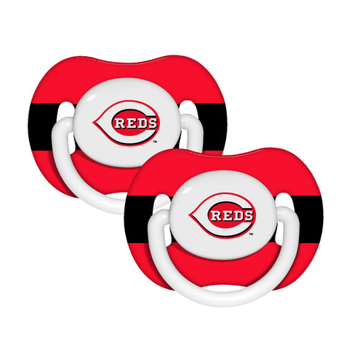 2-Pack Pacifiers - Cincinnati Reds - Peazz.com