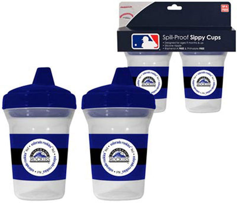 2-Pack Sippy Cups - Colorado Rockies - Peazz.com