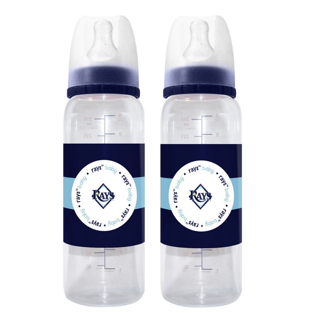 2-Pack of Baby Bottles - Tampa Bay Rays