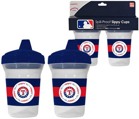 2-Pack Sippy Cups - Texas Rangers - Peazz.com