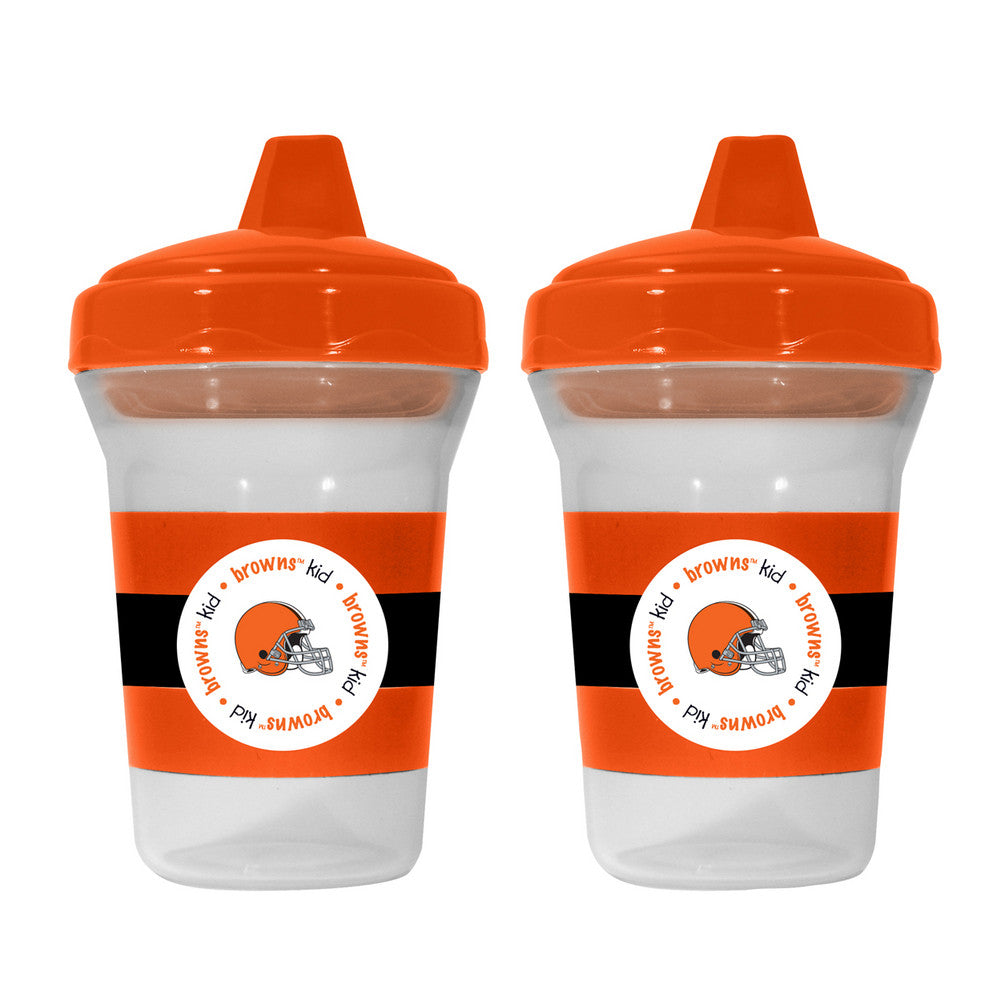 Baby Fanatic 2-Pack Sippy Cups - Cleveland Browns
