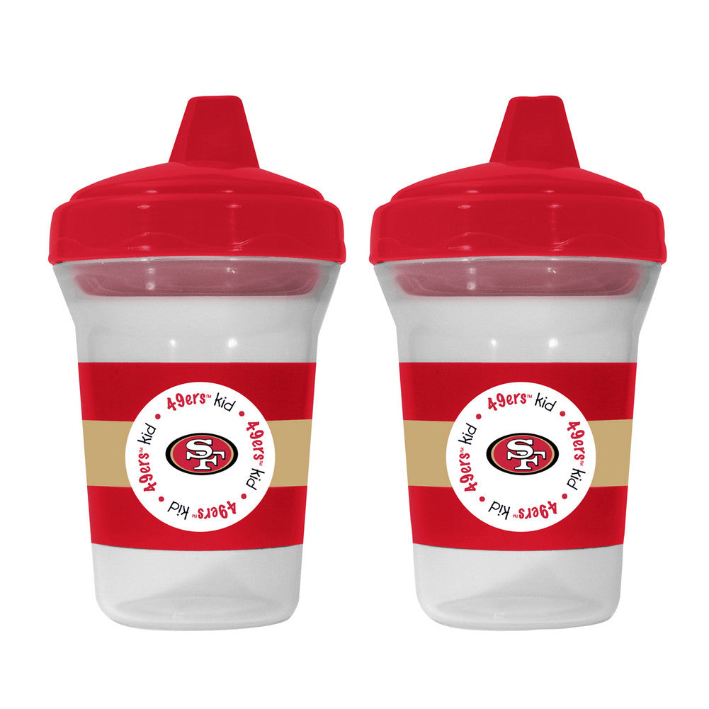 2 pack Sippy Cups - San Francisco 49ers