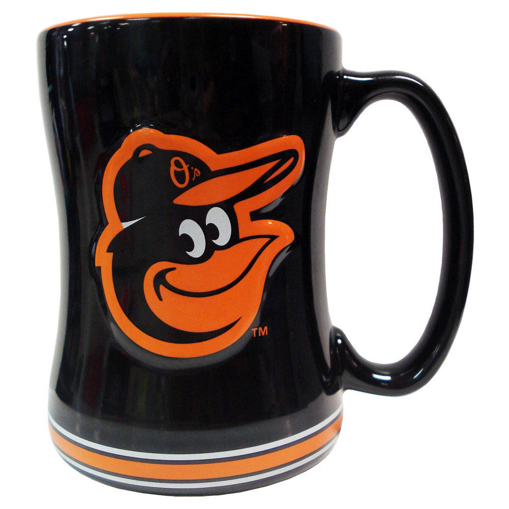 Boelter Boxed Relief Sculpted Mug - Baltimore Orioles