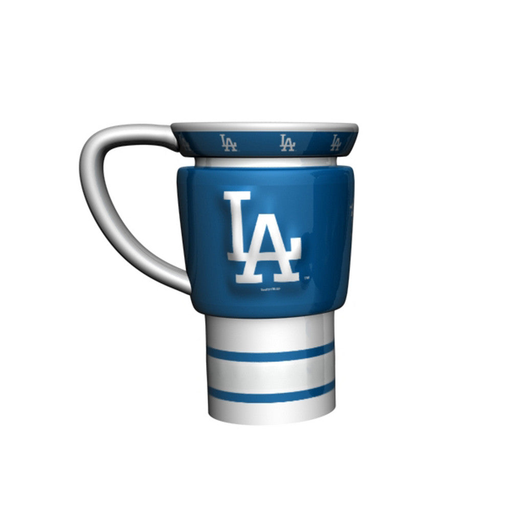 MLB 15oz Sculpted Travel Mug - Los Angeles Dodgers