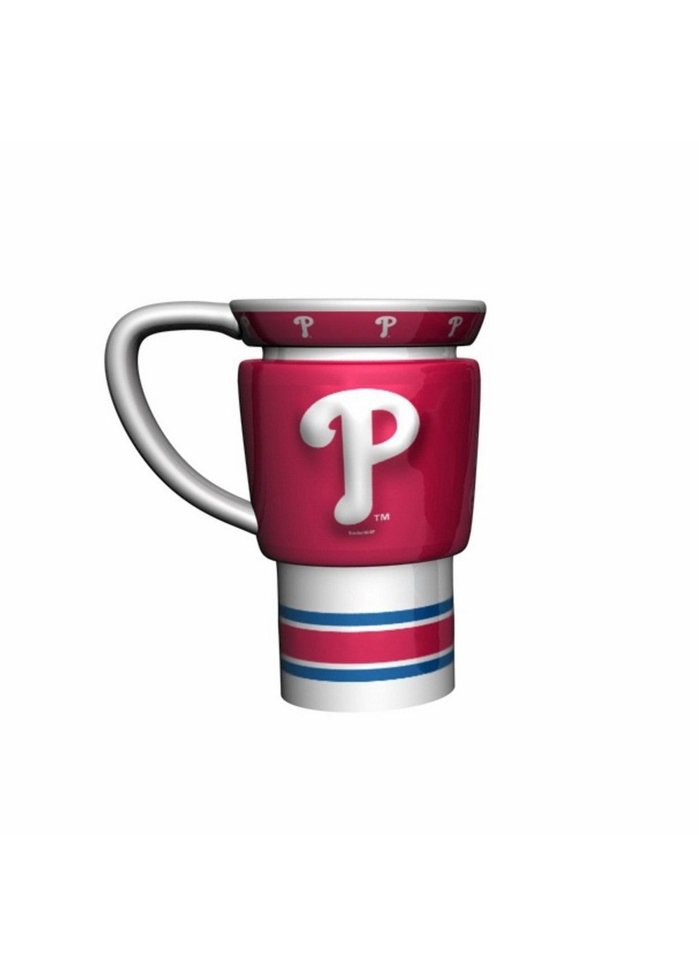 MLB 15oz Sculpted Travel Mug - Philadelphia Phillies