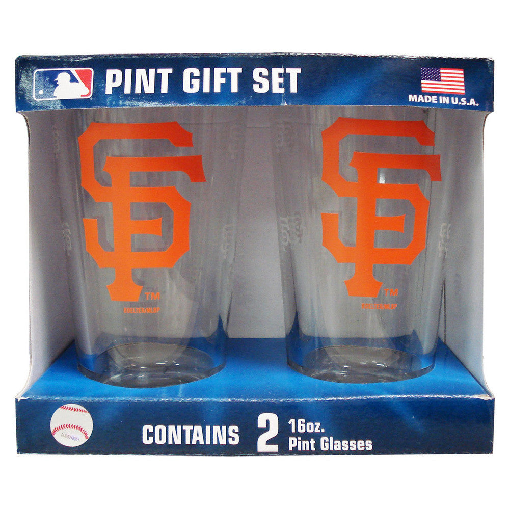 Boelter Pint Glass 2-pack - San Francisco Giants