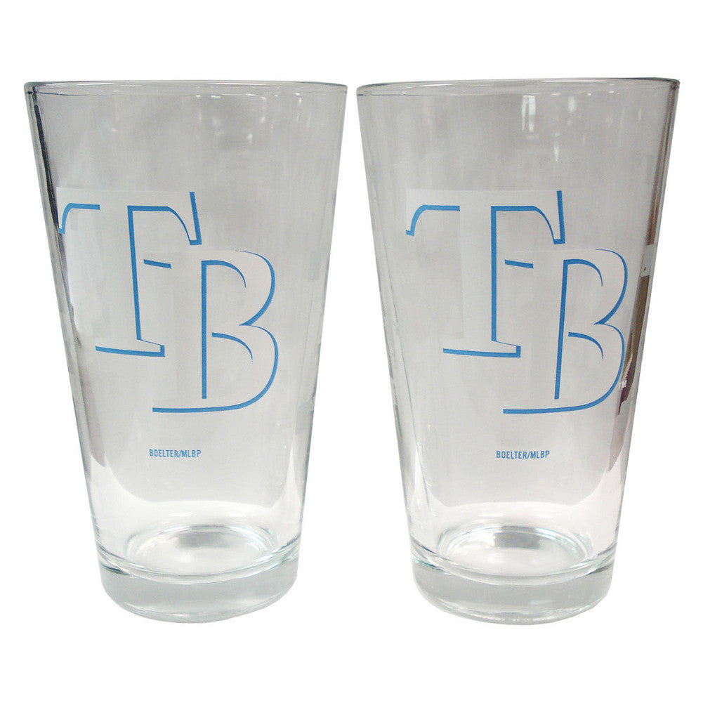 Boelter Pint Glass 2-pack - Tampa Bay Rays