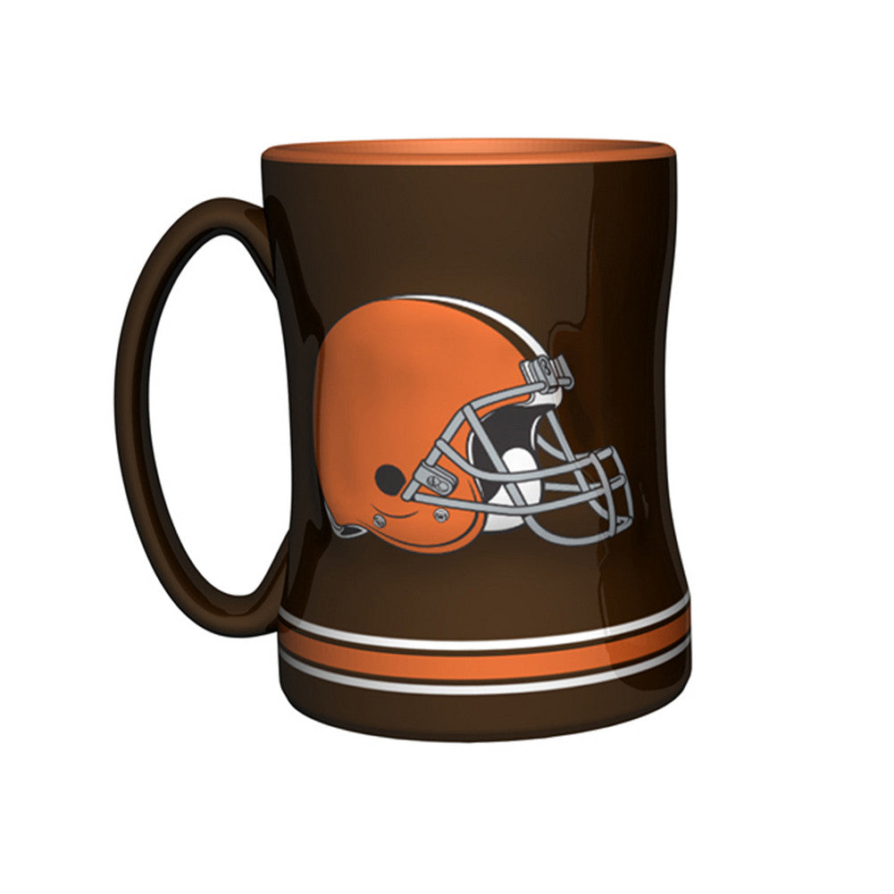 Boxed Relief Sculpted Mug - Cleveland Browns