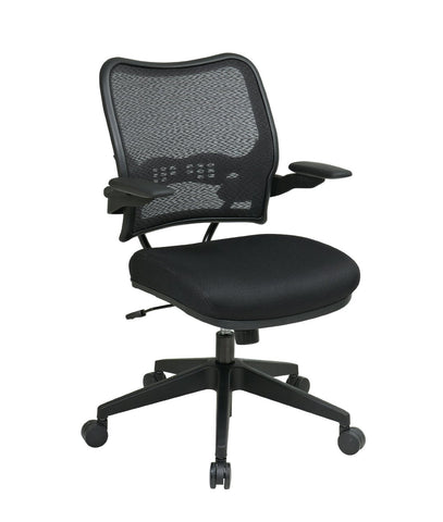 Office Star Space Seating 13-37N1P3 Deluxe Chair with AirGrid® Back and Mesh Seat - Peazz.com