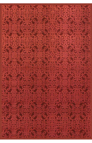 Abacasa 6032-8x10 Napa Kilbourne Red Area Rug - Peazz.com