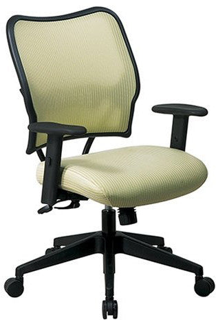 Office Star Space Seating 13-V66N1WA Deluxe Chair with Kiwi VeraFlex®  Back and VeraFlex®  Fabric Seat - Peazz.com