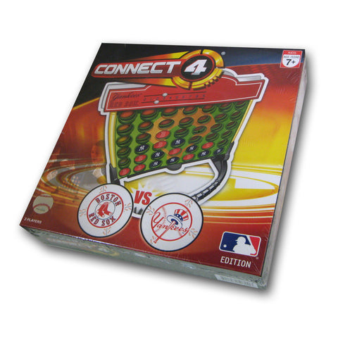 Connect Four MLB Game - Boston Red Sox Vs. New York Yankees - Peazz.com