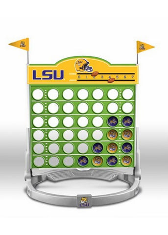 Connect Four Ncaa Game - Louisiana State University - Fighting Tigers - Peazz.com