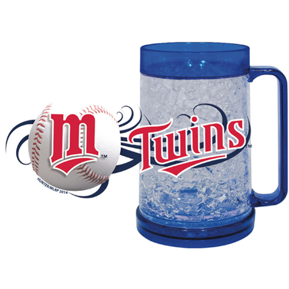Minnesota Twins 16Oz Crystal Freezer Mug