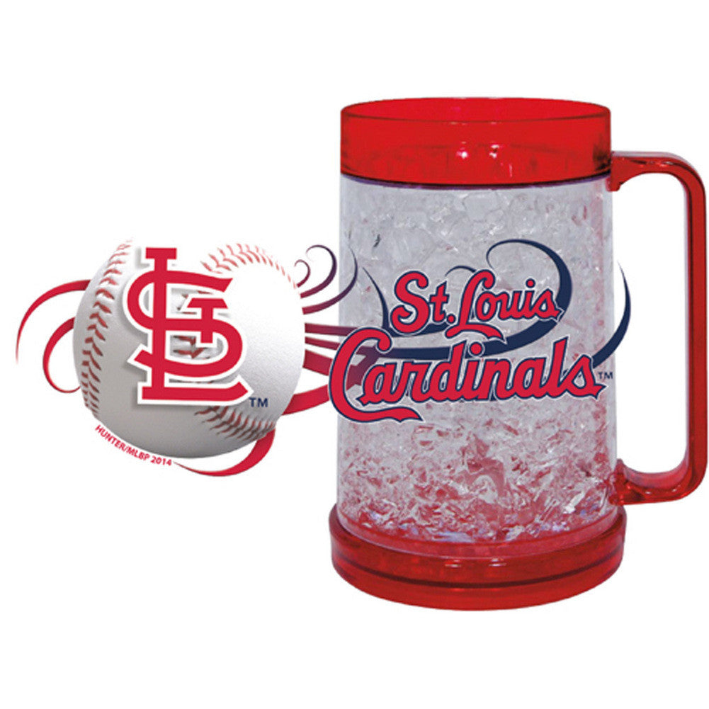 St. Louis Cardinals 16Oz Crystal Freezer Mug