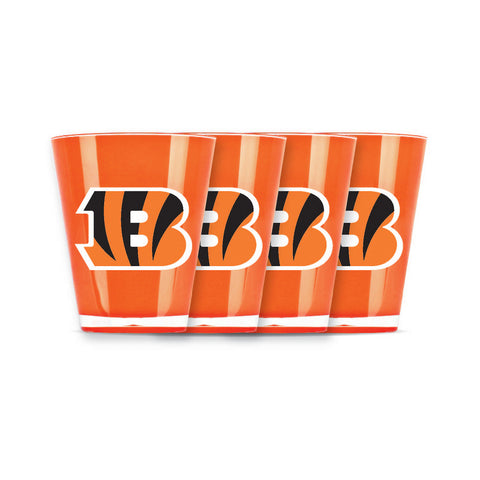 4 piece shot glass set - Cincinnati Bengals - Peazz.com