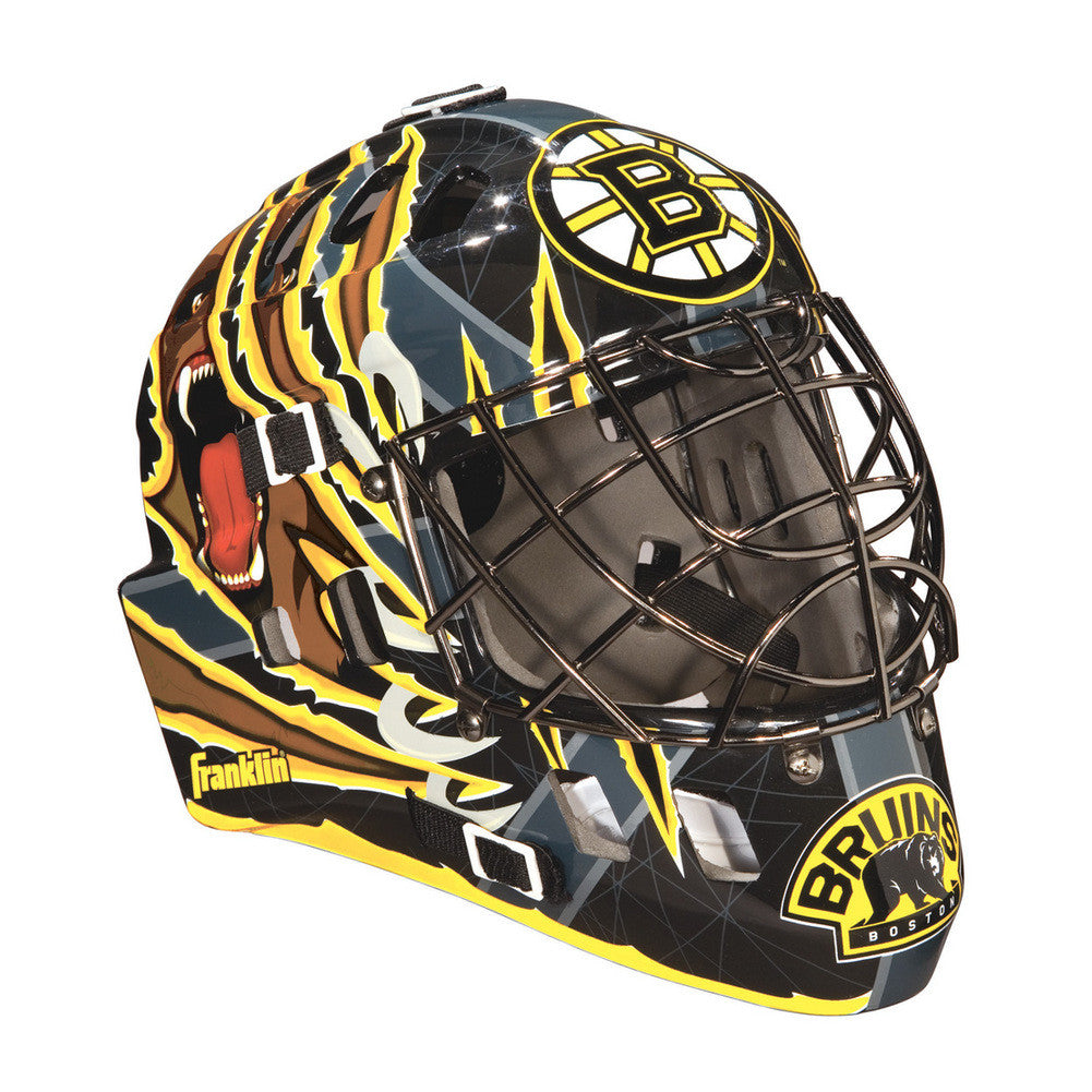 Franklin NHL Mini Goalies Mask- Boston Bruins