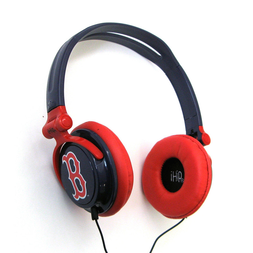 Ihip Slim Dj Headphones  - Boston Red Sox