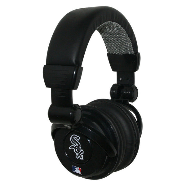 ihip mlb pro dj headphones with microphone chicago white sox. Black Bedroom Furniture Sets. Home Design Ideas