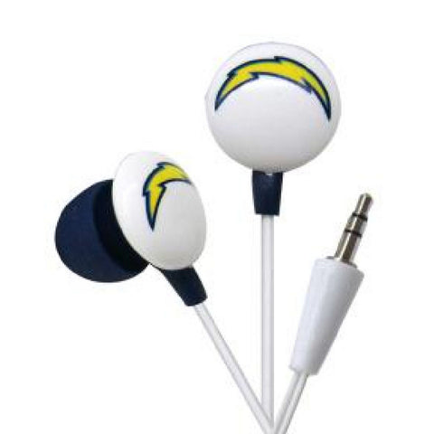 Logo Earbuds - San Diego Chargers - Peazz.com