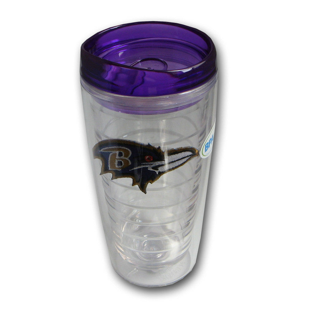 Hunter Insulated Tumbler With Patch - Baltimore Ravens