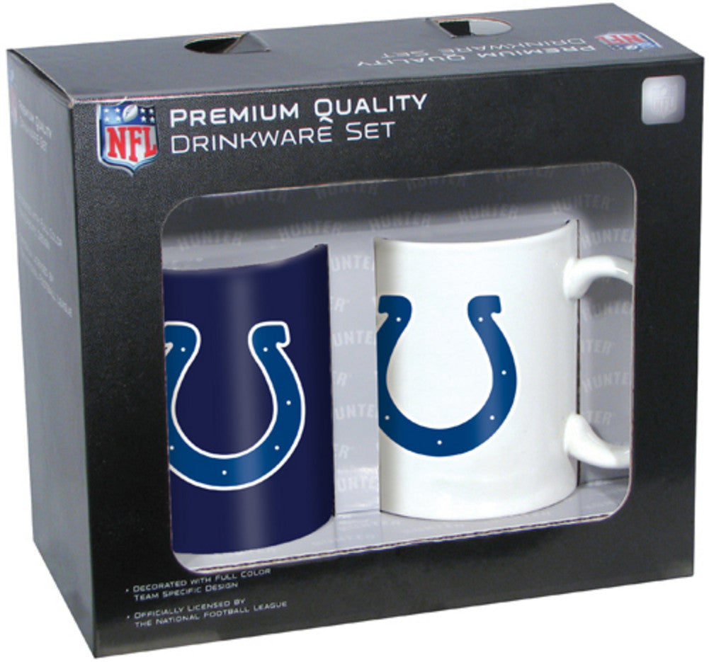 Hunter 2 Pack Coffee Mugs - Indianapolis Colts