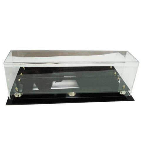 Image Guard Deluxe Acrylic Triple Mini Helmet Display Case - Peazz.com