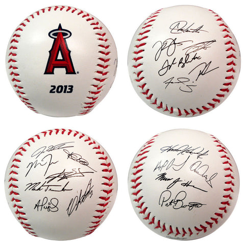 2013 Team Roster Signature Ball - Los Angeles Angels - Peazz.com