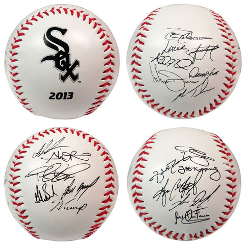 2013 Team Roster Signature Ball - Chicago White Sox - Peazz.com