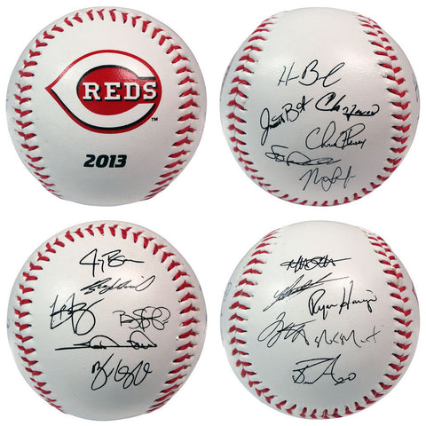 2013 Team Roster Signature Ball - Cincinnati Reds - Peazz.com