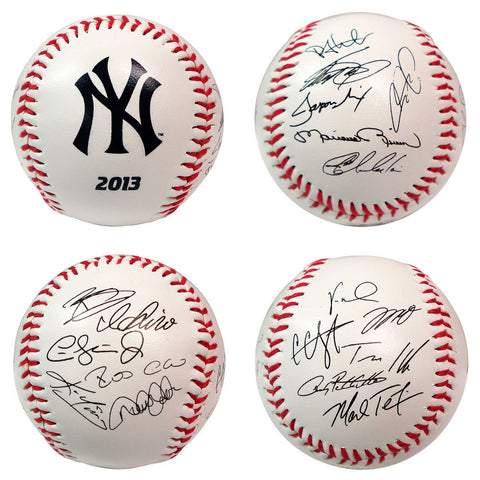 2013 Team Roster Signature Ball - New York Yankees - Peazz.com