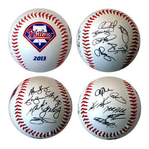 2013 Team Roster Signature Ball - Philadelphia Phillies - Peazz.com