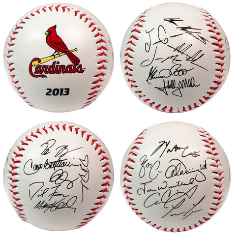 2013 Team Roster Signature Ball - Saint Louis Cardinals - Peazz.com