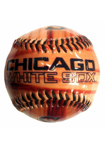 Glossy Wood Grain Baseball - Chicago White Sox - Peazz.com