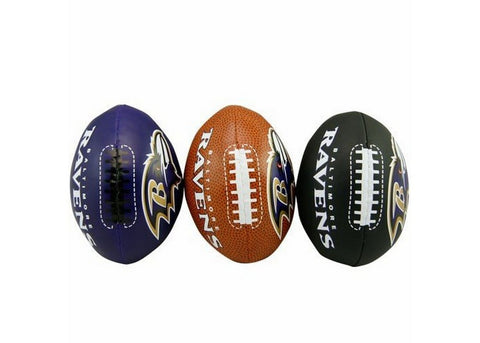 3-Football Softee Set Baltimore Ravens - Peazz.com