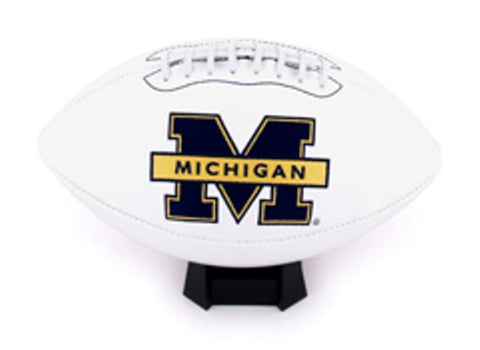 K2 Signature Series Full Size Team Footballs - University of Michigan - Peazz.com