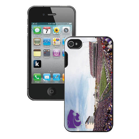 Ncaa Iphone 5 Case- Stadium Kansas State Wildcats - Peazz.com