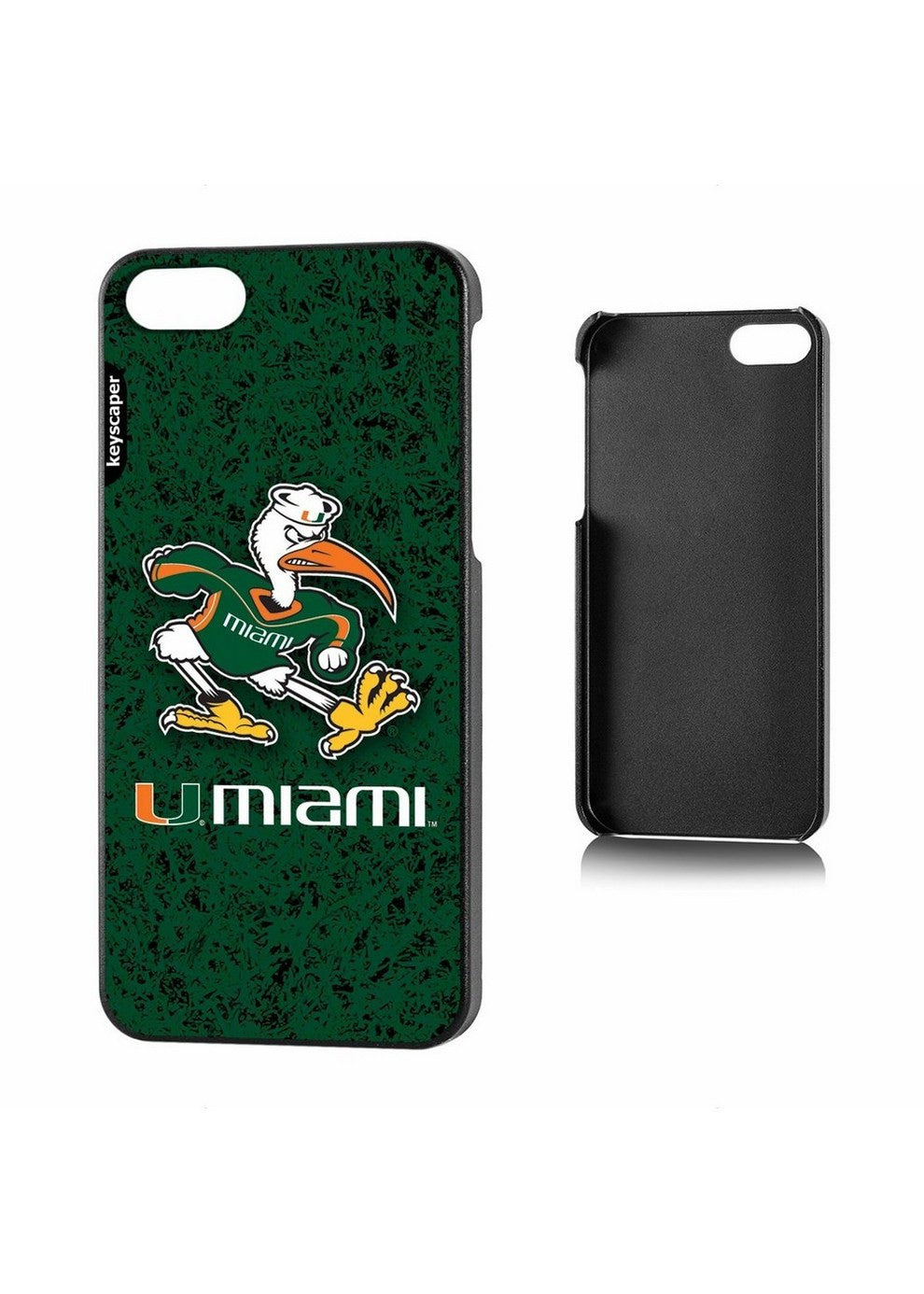 Ncaa Iphone 5 Case - Miami Hurricanes